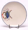 Blue Crab Dinner Coupe Plate