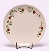 Cranberry Dinner Coupe Plate