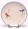 Dragonfly Dinner Coupe Plate