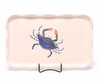 Large Blue Crab Frilly Tray