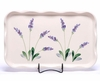 Large Lavender FrillyTray
