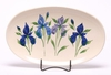 Oval Iris Serving Tray