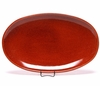 Copper Clay Oval Serving Tray