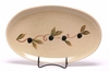 Oval Tuscan Olive Serving Tray
