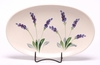 Lavender Oval Serving Tray