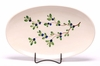 Blueberry Oval Serving Tray