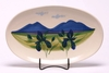 Summer Peaks Oval Serving Tray
