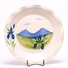 Large Round Summer Peaks Frilly Tray