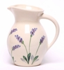 Ceramic Lavender Iced Tea Pitcher