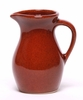 Copper Clay Designer Posie Pitcher