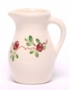 Cranberry Designer Posie Pitcher