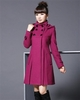 Standing Collar Hooded Winter Coat