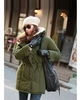 Stylish Women's Woolen Overcoat