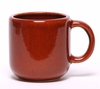 Large Copper Clay Designer Mug