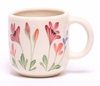 Large Red Poppy Designer Mug