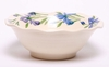 Large Iris Frilly Fruit Bowl