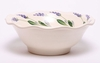 Large Lavander Frilly Fruit Bowl