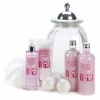 Strawberry Keepsake Jar & Bath Set