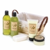Olive Natural Care Bath Set