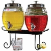 Pub Style Glass Beverage Dispensers