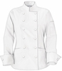 Women's Classic White Chef Coat