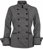 Women's Pebble Grey Chef Coat