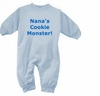 Baby Boy's Bubble Romper - Personalized