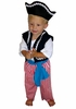Little Pirate Boy Baby Costume