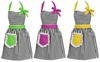 Dorothy Apron  - Black/White/Other Colors
