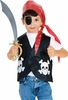 Boy's Halloween Dress Up Pirate