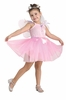 Pretty Pink Fairy Girl Costume