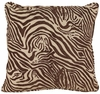 "Zebra 18"" Square Throw Pillow"