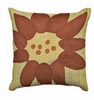 Abstract Floral Set of Two Pillows