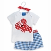 Little Pincher Lobster 2 Piece Short Set