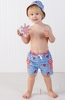 Boy's Little Pincher Lobster Swim Trunks