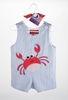 Little Boy's Mudpie Crab Shortall