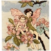 Pear Blossom Fairy Tapestry Cushion Case