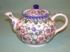 Small Polish Tea Pot  - Artistic Floral