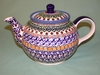 Small Polish Tea Pot - Artist's Pallette