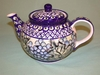Small Tea Pot - Lavender Floral