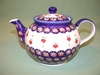 Small Polish  Tea Pot - Pattern 22