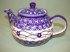 Small Polish Teapot - Pattern 28