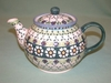 Small Polish Teapot - Pattern 26