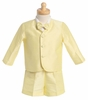 Boy's Yellow Eton Suit