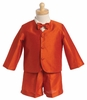 Boy's Orange Eton Suit
