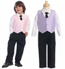 Boy's Vest and Pant Set