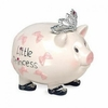 Princess Ribbons Medium Piggy Bank