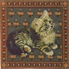 Cat Tapestry Cushion Cover