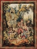 Romance Tapestry - Flute Player