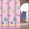 Girl's Butterfly World Shower Curtain